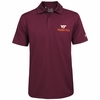 Mens Virginia Tech Under Armour Performance Polo