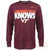 Nike VT Knows Legend Long Sleeved Tee