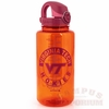 Orange and Maroon VT Nalgene  Water Bottle