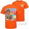 Orange Livin on Hokie Time T-Shirt