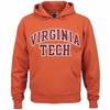 Orange Virginia Tech Big Cotton Hoodie