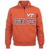 Orange Virginia Tech Big Cotton Quarter Zip