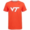 Orange Virginia Tech Classic Cotton Nike Tee