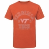 Orange Virginia Tech Distressed 1872 T-Shirt