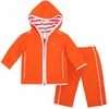Orange Virginia Tech Infant Hooded Jacket Set