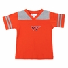 Orange Virginia Tech Toddler Football Stripe Tee