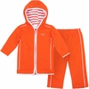 Orange Virginia Tech Toddler Hooded Jacket Set