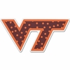 Polka Dot VT Logo 12in Magnet