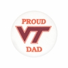 Proud Virginia Tech Dad Fabric Button