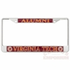 Reflective Virginia Tech Alumni License Plate Frame