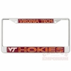 Reflective Virginia Tech Hokies License Plate Frame