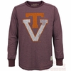 Retro Virginia Tech Long Sleeved Deconstructed Crew