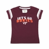 Toddler Girl's Go Hokies Virginia Tech Tee