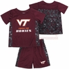 Toddler Virginia Tech Athletic Tee and Shorts Set