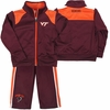 Toddler Virginia Tech Quarterpipe Track Suit