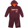 Toddler Virginia Tech Starburst Fleece Set