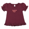 Toddlers Virginia Tech Frill Shirt