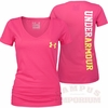 Under Armour Womens Charged Cotton V-Neck