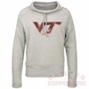 VA Tech Ladies Terry Cowl Neck