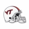 VA Tech White Football Helmet Decal