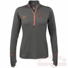 Virginia Tech 1/2 Zip Tonal Running Top by Nike