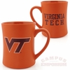 Virginia Tech 16oz Orange Matte Mug
