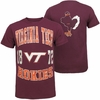 Virginia Tech 1872 Horizon Tee by Colosseum