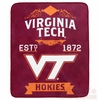 Virginia Tech 1872 Plush Blanket