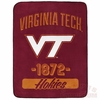 Virginia Tech 1872 Super Plush Throw Blanket