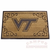 Virginia Tech 24x39 Door Mat