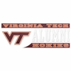 Virginia Tech Maroon and White Alumni Decal