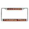 Virginia Tech Alumni Reflective License Frame