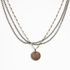 Virginia Tech Antique Style Bronze Pearl Necklace