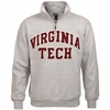 Virginia Tech Applique Quarter Zip Sweatshirt