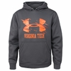 Virginia Tech Armour� Fleece 2.0 Hood Charcoal