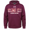 Virginia Tech Armour� Fleece 2.0 Hood Maroon