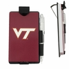 Virginia Tech Auto Notes with Visor Clip