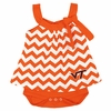 Virginia Tech Baby Chevron Dress Snap Suit