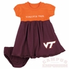 Virginia Tech Baby Cupid Dress and Bloomers