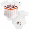 Virginia Tech Baby Curve Ball Bodysuit