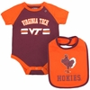 Virginia Tech Baby Dribble Bodysuit & Bib Set