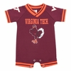 Virginia Tech Baby Football Fan One-Piece