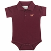 Virginia Tech Baby Golf Shirt Romper