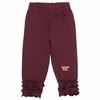 Virginia Tech Baby Ruffle Leggings
