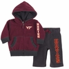 Virginia Tech Baby Snowball Polar Fleece Set