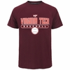 Virginia Tech Baseball Performance Tee by Champion