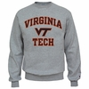 Virginia Tech Basic Crew in Oxford Gray