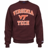 Maroon Virginia Tech Basic Crew