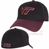 Virginia Tech Black 2TONE 39Thirty Stretch Fit Cap by New Era