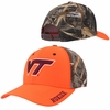 Virginia Tech Blaze Orange & Camouflage Hat